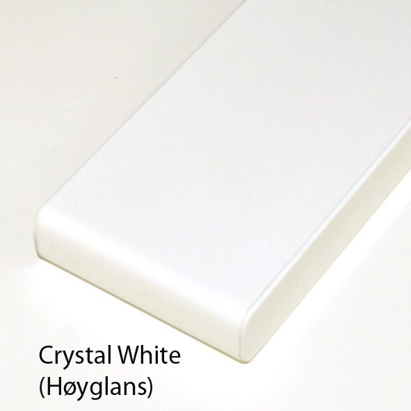BP 1 Crystal White (Høyglans)